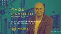 Radu Savopol, live la StartupCafe