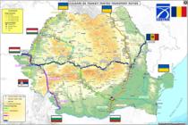Harta culoarelor de tranzit marfă România - pandemie coronavirus
