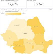 Harta deficitului de medici