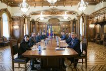 Sedinta la Palatul Cotroceni