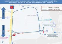 Cum se face accesul auto spre Aeroportul Otopeni