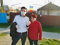 Voluntari din Bacău, în perioada epidemiei de coronavirus