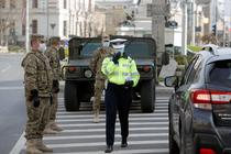 Politia si Armata pe strada in Bucuresti
