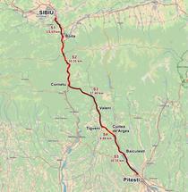 Autostrada a1 Sibiu - Pitesti, pe sectiuni