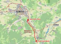 Sectiunea 1 Sibiu - Boita, parte din A1 Sibiu - Pitesti