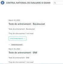 Centrul de Examinare și Evaluare