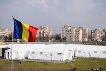 Spital mobil instalat de Armata