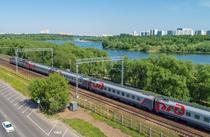 Tren al Cailor Ferate Ruse RZD