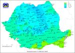 Temperaturile la ora 8 pe 1 aprilie 2020