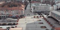 Centrul Sucevei - aproape pustiu in prima zi de carantina
