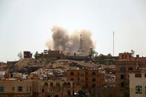 Lovituri aeriene in Sanaa, cel mai mare oras din Yemen