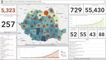 Tablou interactiv - harta cazurilor de coronavirus in Romania - Statistici - 10 aprilie