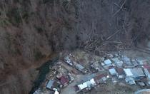 Alunecare de teren la Azuga