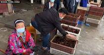 Piata in Wuhan