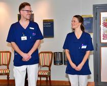 Printesa Sofia a Suediei a inceput lucrul in spital