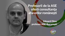 Eduard Dinu, profesor ASE