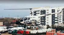 Dezinfectie cu elicopterul in Sectorul 6