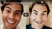 Nadal si Federer, live pe Instagram