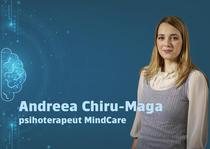Andreea Chiru-Maga, psihoterapeut MindCare