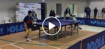 Defensiva ermetica la tenis de masa