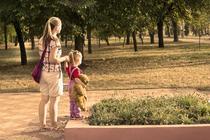 copii in parc in timpul pandemiei