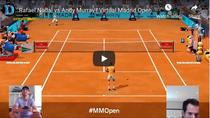 Nadal si Murray, duelandu-se virtual