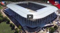 Stadionul Steaua, vazut de sus