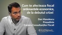 La ce sa fie atente firmele in privinta amanarii ratelor la credite - Dan Manolescu, presedintele Camerei Consultantilor Fiscali