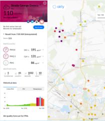 Poluare 8 aprilie 2020 - Bucuresti