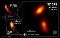 Quasarul si jeturile de plasma