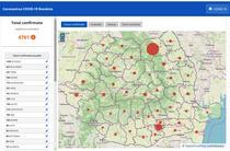 Harta cazurilor de coronavirus pe judete - 8 aprilie