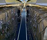 Masti FFP2 aduse din China cu un avion Tarom