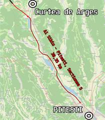 A1 Pitesti - Curtea de Arges