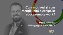 Petru Pacuraru, HPDI