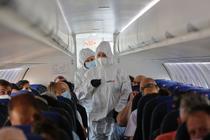 Zbor cu avionul in timpul pandemiei de coronavirus