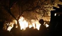 Incendiu in colonia 1 Mai