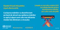 Lampile UV si coronavirusul