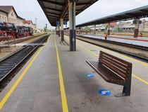 Marcaje la gara din Oradea