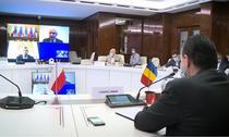 Videoconferinta cu premierul Poloniei