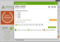 Teste Online gratuite pe Didactic