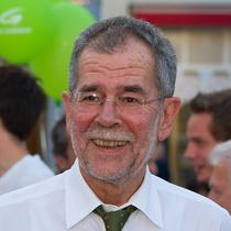 Presedintele Austriei Alexander Van der Bellen