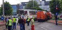 Accident tramvaie Sura Mare