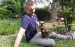Pisica Papille (sursa foto: twitter)