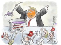 Caricatura Trump- Anderson