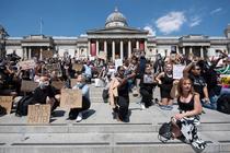 Protest Black Lives Matter, Londra