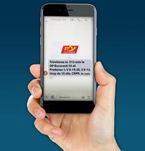 Alerta prin SMS pentru coletele din China