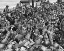 Ziua Europei. Imagine de arhivă cu debarcarea trupelor aliate în Normandia în 1944