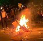Proteste in Lafayette Square
