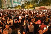 Comemorarea Masacrului din Piata Tiananmen, Hong Kong