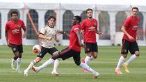 Manchester United, la antrenamente